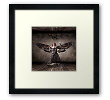 From within the Wall Framed Print