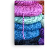 yarn shop Canvas Print