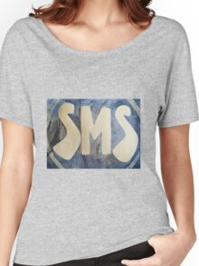 Save Me Superhero! Title Women's Relaxed Fit T-Shirt