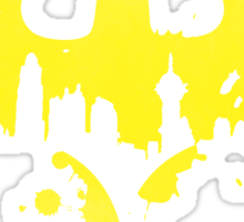Gotham City (Batman) (Yellow) Sticker