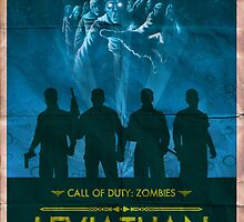 Call of Duty: Zombies Poster - Leviathan by HexZombies