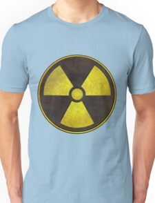Radioactive Fallout Symbol - Geek Science Unisex T-Shirt