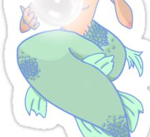 Mermaid with a pearl Sticker