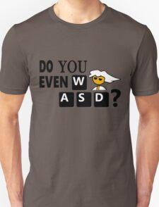 Steam PC Master Race Geek Do You Even WASD? Unisex T-Shirt