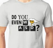 Steam PC Master Race Geek Do You Even WASD? Unisex T-Shirt