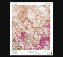 USGS TOPO Map Arizona AZ Inspiration 311892 1945 24000 Unisex T-Shirt