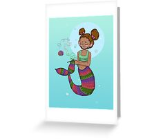 Fishes get stitches  Greeting Card