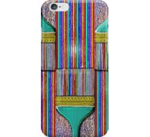 A Brush with Wet Paint iPhone Case/Skin