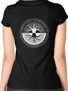 Tree_life_1 Women's Fitted Scoop T-Shirt
