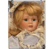 blond doll head iPad Case/Skin