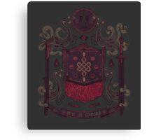 Born in Blood Canvas Print