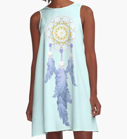 Calming Dream A-Line Dress