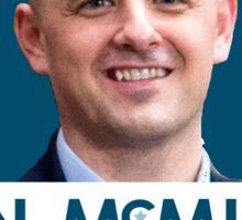 Evan McMullin Better a bald head Sticker