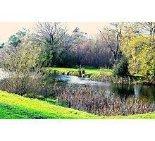 Meander in autumn in Deloraine Photographic Print