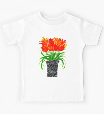 Calligraphy pot Kids Tee