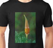 California poppy with cap Unisex T-Shirt