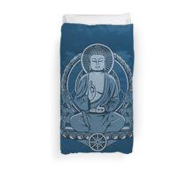 Gautama Buddha Halftone Duvet Duvet Cover