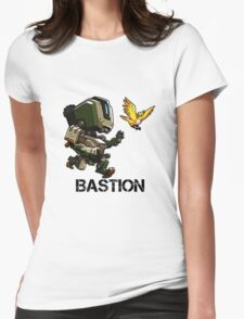BASTION Cute Spray Merchandise Womens Fitted T-Shirt