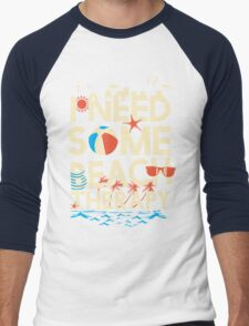 BEACH THERAPY Men's Baseball ¾ T-Shirt