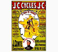 """TOUR DE FRANCE"" Vintage Bicycle Racing Print Unisex T-Shirt"