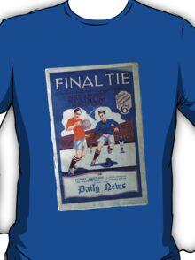 1927 Cup Final Program T-Shirt