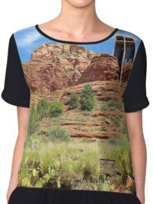 Cathedral Rock, Arizona Chiffon Top