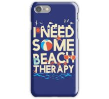 BEACH THERAPY iPhone Case/Skin