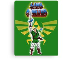 Link and the Master Sword Canvas Print