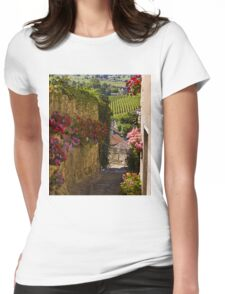 vineyards of saint emilion Womens Fitted T-Shirt