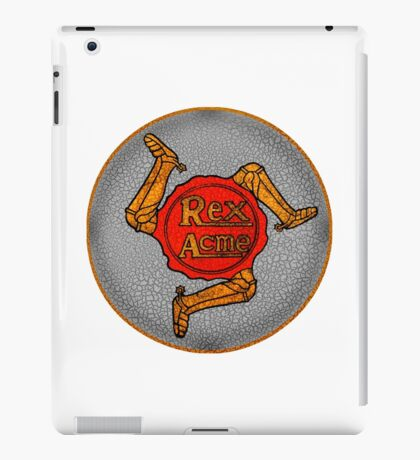 Rex Acme Vintage Motorcycles  UK iPad Case/Skin