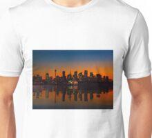 Sydney Harbour sunset Unisex T-Shirt