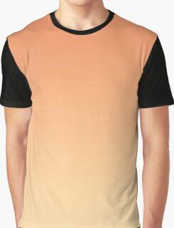 Gradient - Peach Slice Graphic T-Shirt