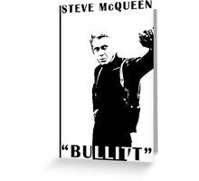 Steve McQueen Greeting Card