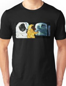 Pigs in The Fog - Horace and Ozma Menaced by a Dead Pirate Unisex T-Shirt