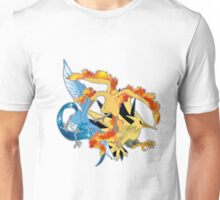 Legendary Bird Trio Unisex T-Shirt