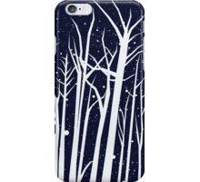 Snowy Winter Night iPhone Case/Skin