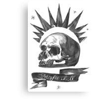 Chloe Price - Misfit Skull Canvas Print