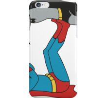 DC SUPER HEROES ( BATMAN VS SUPERMAN)	 iPhone Case/Skin