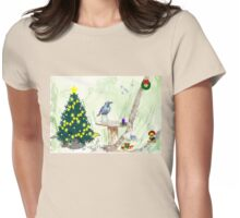 The Starling and Christmas in Africa Womens Fitted T-Shirt