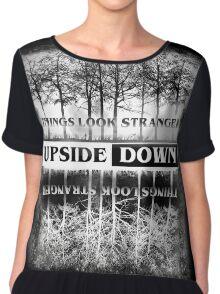 Stranger Things - Upside Down Design Chiffon Top