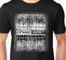 Stranger Things - Upside Down Design Unisex T-Shirt