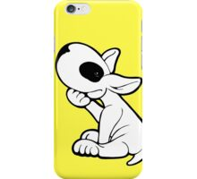 Eye Patch Bull Terrier Black  iPhone Case/Skin