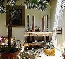 An Elegant Corner Of A Majorcan Hotel by Fara