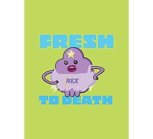 Fresh to Death (Navy Edition) Photographic Print
