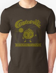 The Original CASTROVILLE ARTICHOKE FESTIVAL shirt - Dustin's shirt in Stranger Things!! Unisex T-Shirt
