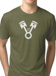54 degree V engine (2) Tri-blend T-Shirt