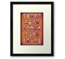 MAD Tarot Framed Print