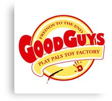 the Good guys - childs play Canvas Print