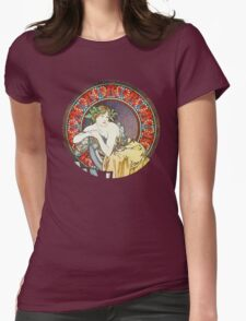 Alphonse mucha Goddess Artwork T-Shirt