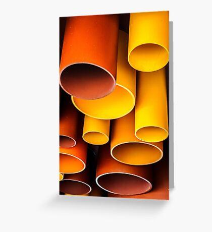 Plastic Architecture Greeting Card